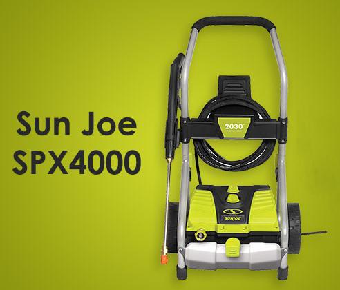 Sun Joe SPX4000 Features